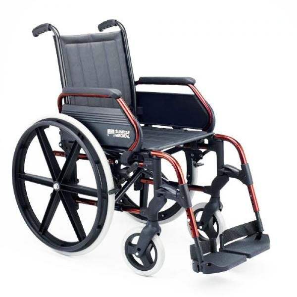 silla de ruedas sunrise medical